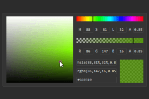 Cx Color Picker