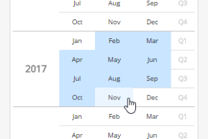 Cx Month Picker